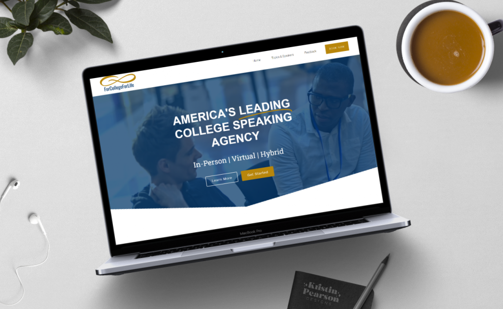Professional website designed by kristin pearson